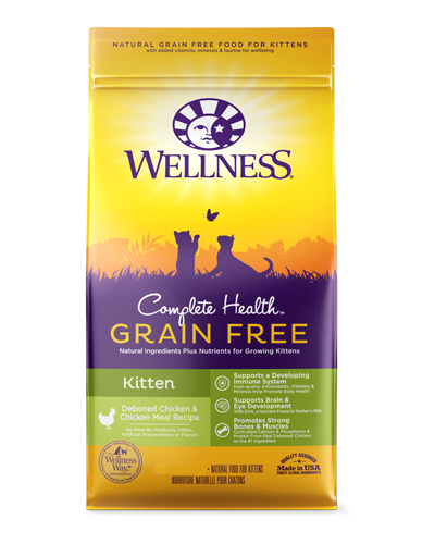 Picture of Wellness Complete Health Grain Free Kitten Chicken Recipe - 2.25 lbs