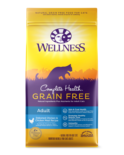 Picture of Wellness Complete Health Grain Free Adult Chicken Recipe - 2.25 lbs.