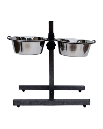 Picture of Indipets Adjustable Height Double Diner 2 Quart