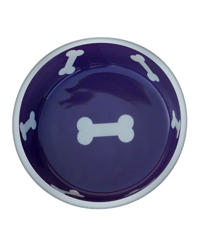 Picture of Indipets Super-Max Aluminum Large Bowl - Violet