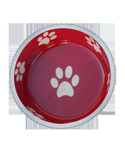 Picture of Indipets Super-Max Aluminum Medium Bowl - Red