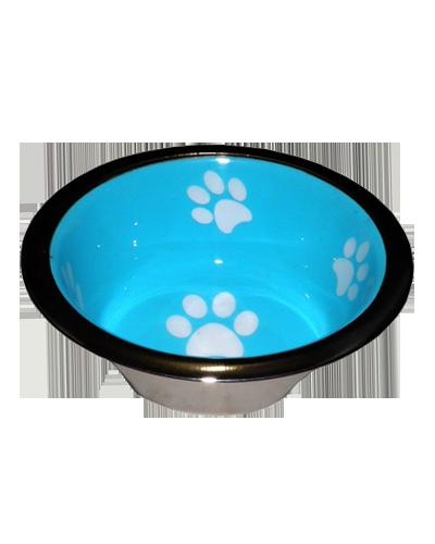 Picture of Indipets Super-Max Aluminum Extra Small Bowl - Aqua
