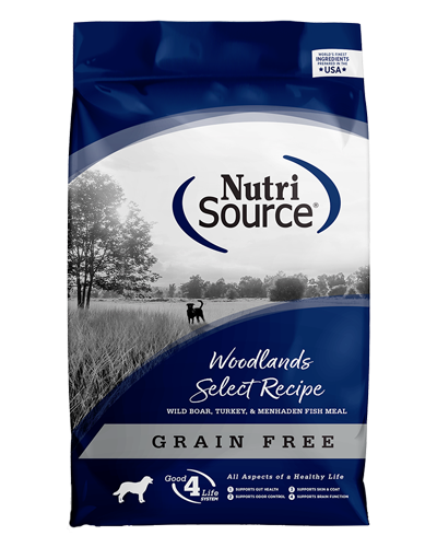 Picture of Nutrisource Grain Free Woodlands Select with Wild Boar - 15 lbs.