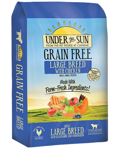 Picture of Canidae Under the Sun Grain Free Large Breed Chicken Formula - 25 lb.