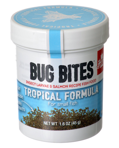 Picture of Fluval Bug Bites Tropical Formula for Small Fish - 1.6 oz.