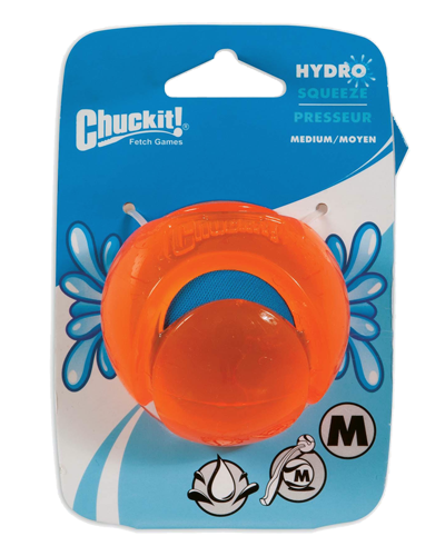 Picture of ChuckIt! Hydro Squeeze Ball Medium