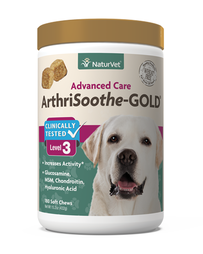 Picture of NaturVet ArthriSoothe Gold Soft Chews Level 3 - 180 Ct