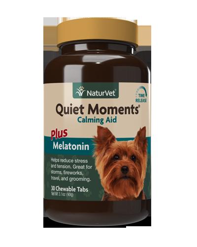 Picture of NaturVet Quiet Moments Plus Melatonin Soft Chew - 30 Ct.