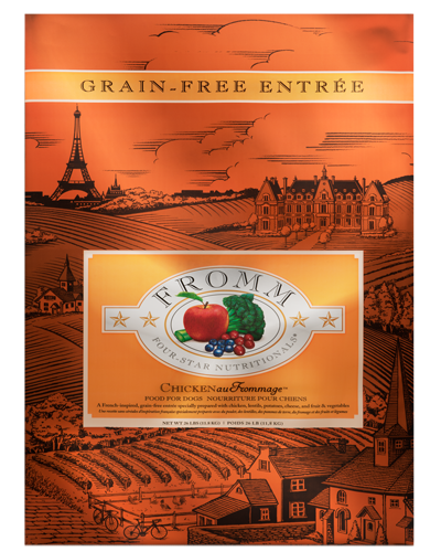 Picture of Fromm Four Star Grain Free Chicken au Frommage Entrée - 26 lb.
