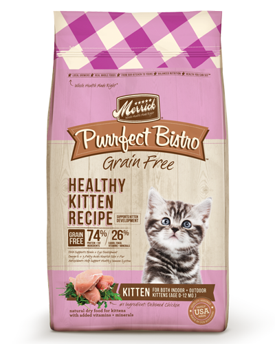Picture of Merrick Purrfect Bistro Grain Free Healthy Kitten Recipe with Chicken - 7 lb.