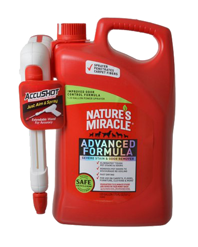 Picture of Nature's Miracle Advanced Stain and Odor Remover with Accushot - 164 oz