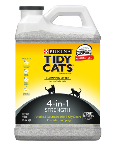 Picture of Purina Tidy Cats 4-in-1 Strength Cat Litter - 20 lb.