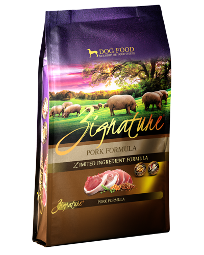 Picture of Zignature Grain Free Limited Ingredient Pork Formula - 4 lbs.