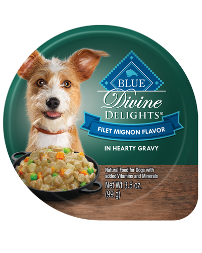 Picture of Blue Buffalo Divine Delights Filet Mignon Flavor in Hearty Gravy - 3.5 oz.