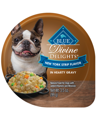 Picture of Blue Buffalo Divine Delights New York Strip Flavor in Hearty Gravy - 3.5 oz.