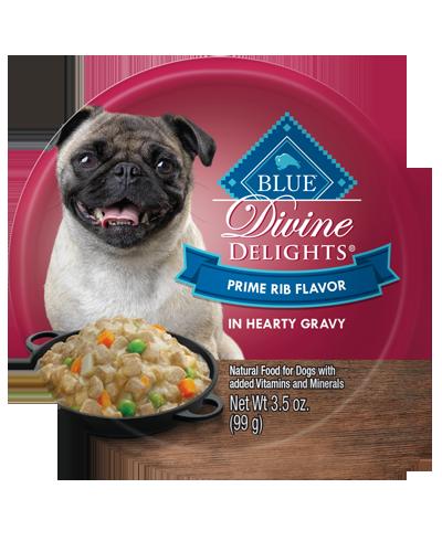 Picture of Blue Buffalo Divine Delights Prime Rib Flavor in Hearty Gravy - 3.5 oz.