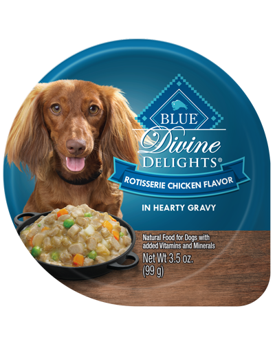 Picture of Blue Buffalo Divine Delights Rotisserie Chicken Flavor in Hearty Gravy - 3.5 oz.