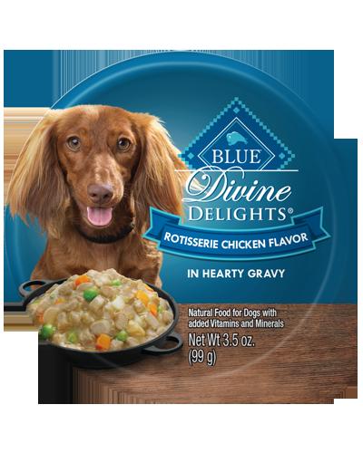 Picture of Blue Buffalo Divine Delights Rotisserie Chicken Flavor in Hearty Gravy - 3.5 oz.