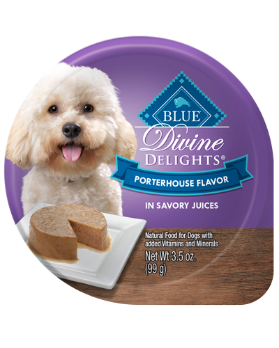 Picture of Blue Buffalo Divine Delights Portherhouse Flavor in Savory Juices - 3.5 oz.