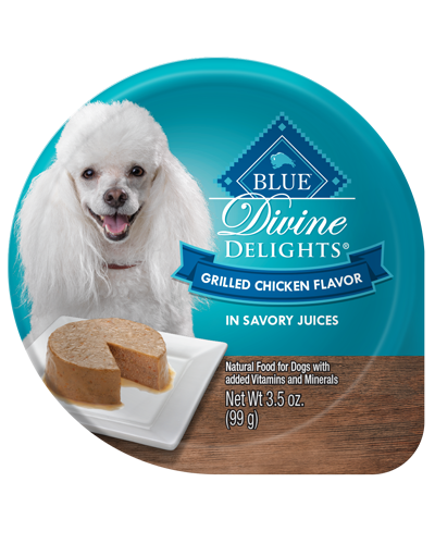 Picture of Blue Buffalo Divine Delights Grilled Chicken Flavor in Savory Juices - 3.5 oz.