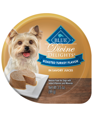 Picture of Blue Buffalo Divine Delights Roasted Turkey Flavor in Savory Juices - 3.5 oz.
