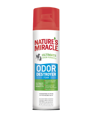 Picture of Nature's Miracle 3 in 1 Ultimate Odor Destroyer Spray - 17.5 oz