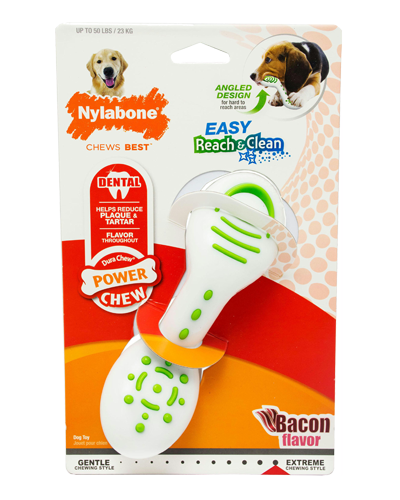 Picture of Nylabone Power Chew Easy Reach & Clean Bacon Flavor - Medium