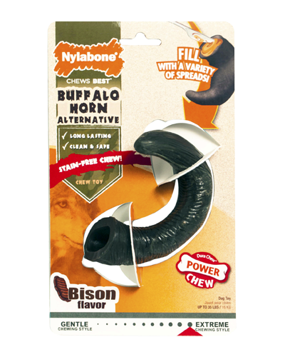 Picture of Nylabone Extreme Power Chew Buffalo Horn Bison Flavored Medium
