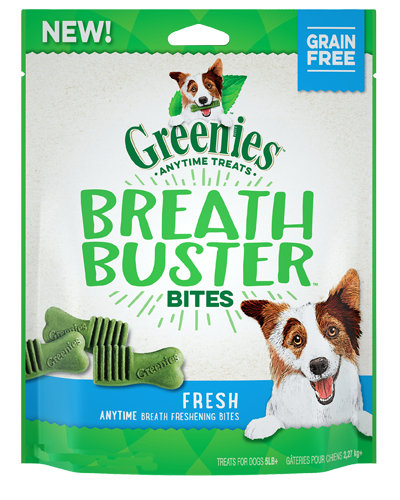 Picture of Greenies Breath Buster Bites Fresh Flavor - 2.5 oz.