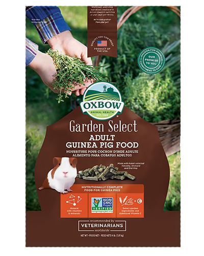 Picture of Oxbow Garden Select Adult Guinea Pig Food - 4 lbs.