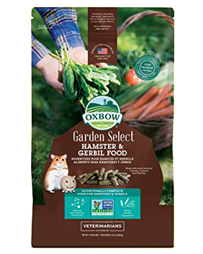 Picture of Oxbow Garden Select Hamster & Gerbil Food - 2.5 lb.