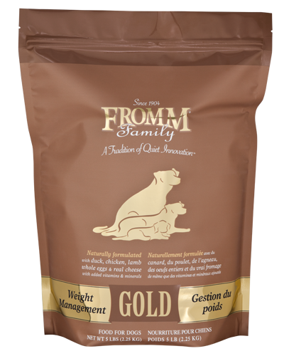 Picture of Fromm Gold Weight Management Formula with Turkey Liver - 5 lb.