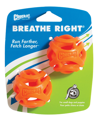 Picture of ChuckIt! Breathe Right Fetch Small Ball - 2 Pack