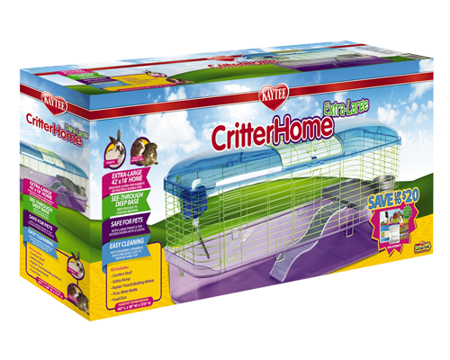 "Picture of Kaytee CritterHome Extra Large Habitat - 42"" x 18"" x 17.5"""