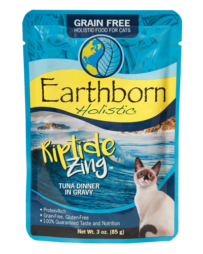 Picture of Earthborn Holistic Grain Free Riptide Zing Tuna Dinner in Gravy - 3 oz.