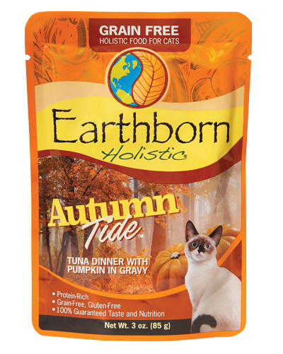 Picture of Earthborn Holistic Grain Free Autumn Tide Tuna Dinner with Pumpkin in Gravy - 3 oz.