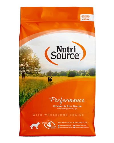 Picture of Nutrisource 30% Protein 20% Fat Performance Formula - 40 lbs.
