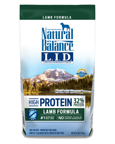 Picture of Natural Balance Limited Ingredient Diet High Protein Grain Free Lamb Formula - 4 lb.