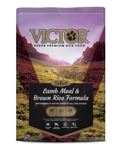 Picture of Victor Select Lamb Meal & Brown Rice Formula - 40 lbs.