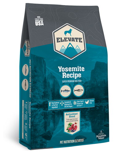 Picture of Elevate Yosemite Grain Free Recipe with Salmon - 28 lbs.