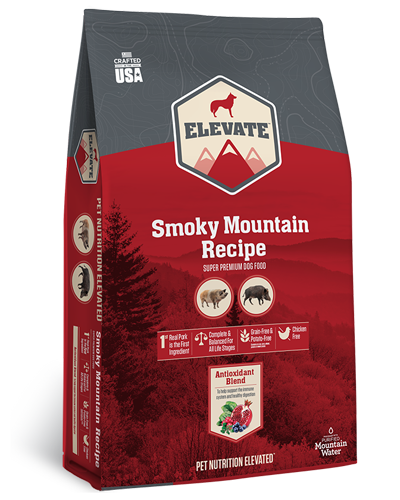 Picture of Elevate Smoky Mountain Grain Free Recipe with Pork - 28 lbs.