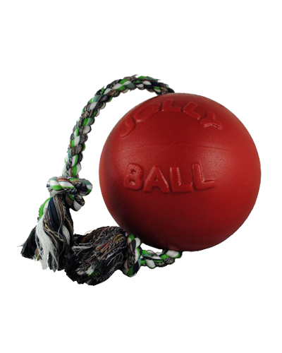 Picture of Jolly Pet Romp 'n' Roll Ball Red - 4.5""