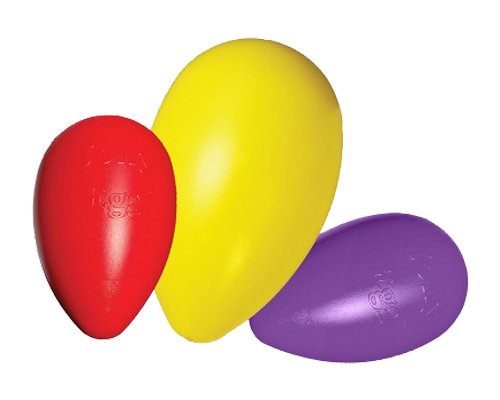 "Picture of Jolly Pet Egg Shaped Ball 12"" - Assorted Colors"