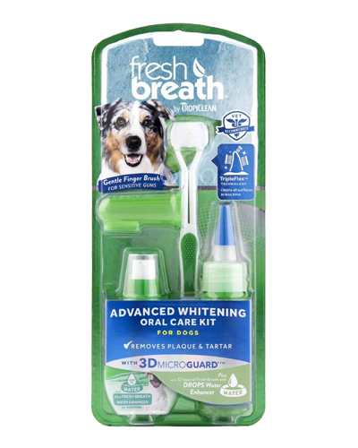 Picture of Tropiclean Fresh Breath Advanced Whitening Oral Care Kit
