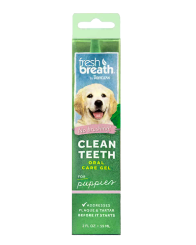 Picture of Tropiclean Fresh Breath Puppy Clean Teeth Gel - 2 oz