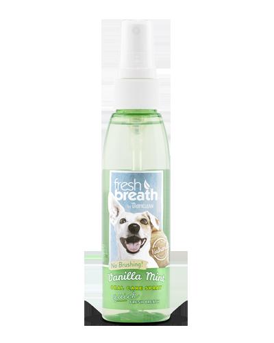 Picture of Tropiclean Fresh Breath Vanilla Mint Oral Care Spray - 4 oz