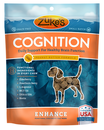 Picture of Zuke's Enhance Cognition Daily Support Peanut Butter Formula Soft Chews - 5 oz.