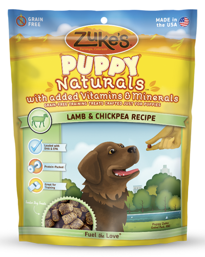 Picture of Zuke's Puppy Naturals Grain Free Lamb & Chickpea Recipe Bites - 5 oz.