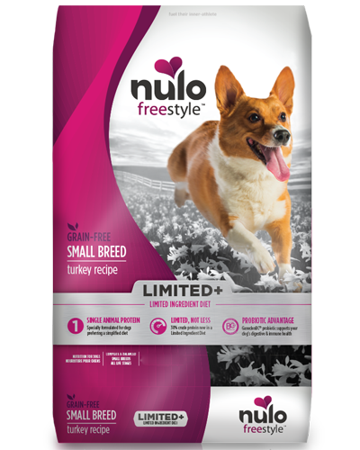 Picture of Nulo FreeStyle Limited+ Small Breed Limited Ingredient Diet Grain Free Turkey Recipe - 10 lb.