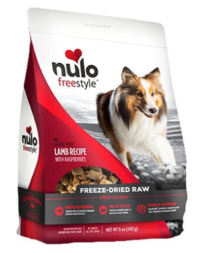 Picture of Nulo FreeStyle Freeze-Dried Raw Grain Free Lamb Recipe with Raspberries - 5 oz.